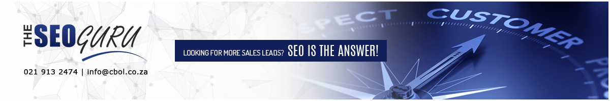 SEO Guru Front Page Ad